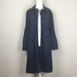 GAP - Denim Trench Coat